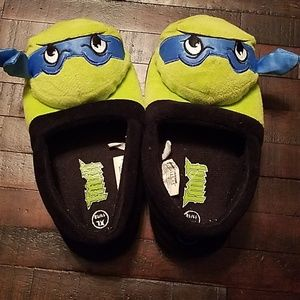 TMNT Leo house shoes